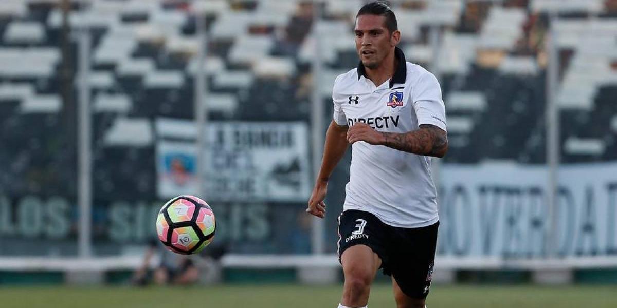 Mark González llegó a un acuerdo con Blanco y Negro y dejó de ser jugador de Colo Colo