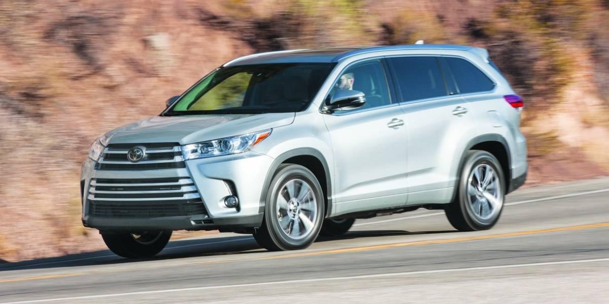 Toyota Highlander 2017: cómoda y confiable para toda la familia