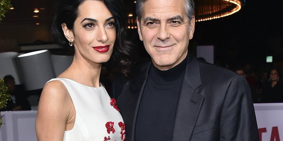 Padre de George Clooney lleno de amor por los gemelos
