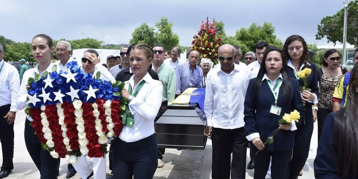 Como los grandes fue sepultado el 'Gol Olímpico', Marcos Coll, en Barranquilla