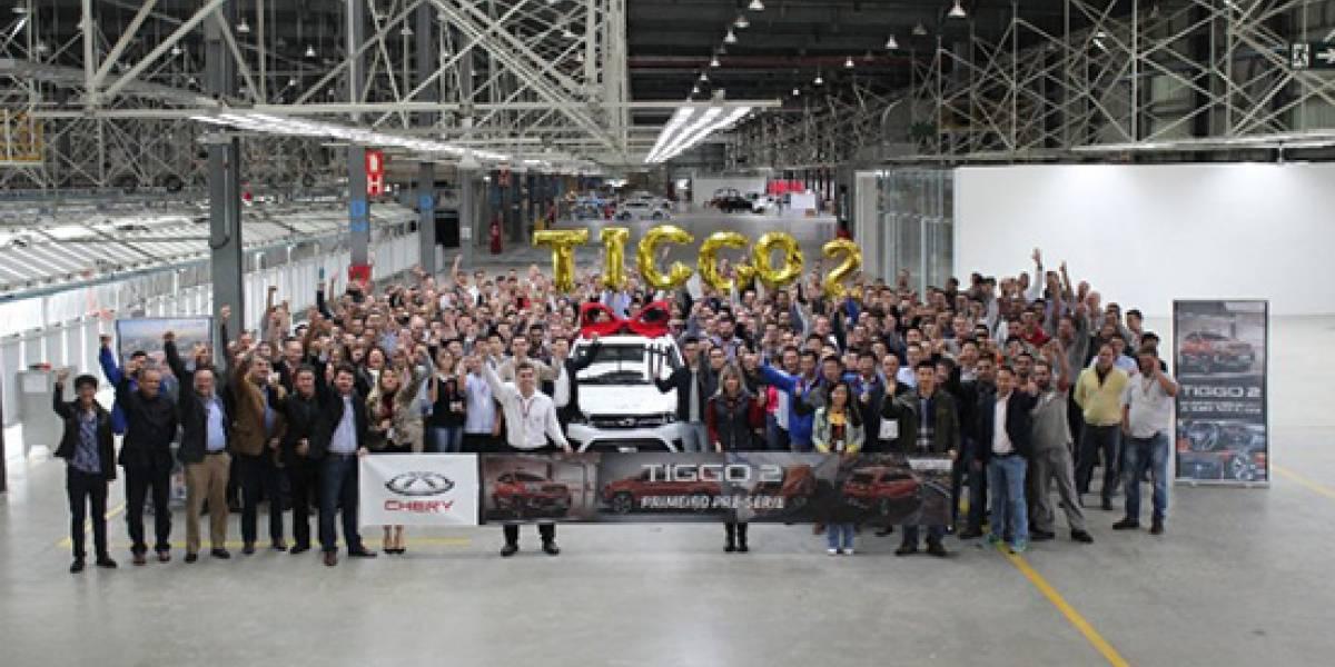 Chery celebra el inicio de la producción del Tiggo 2 en Brasil