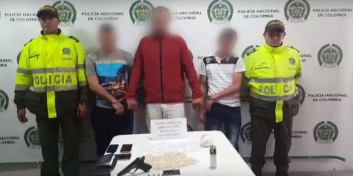 Un militar del Ejército Venezolano y otros dos hombres fueron capturados con 900 dosis de droga