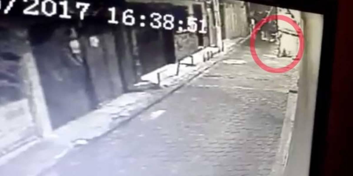Video muestra momento en el que disparan contra la oficina de Neto Bran