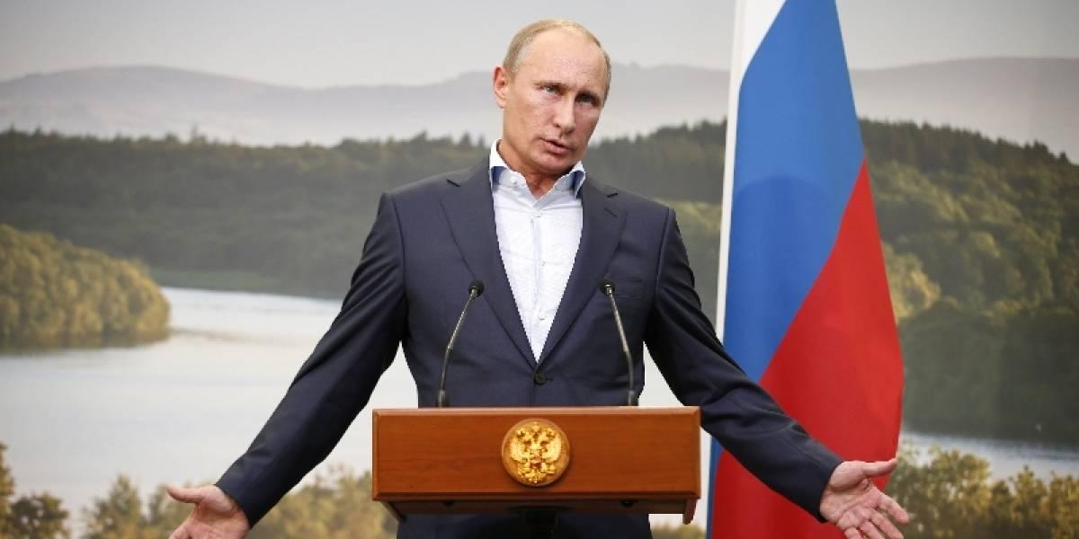 """Vladimir Putin: """"No soy una mujer, así que no tengo días malos"""""""