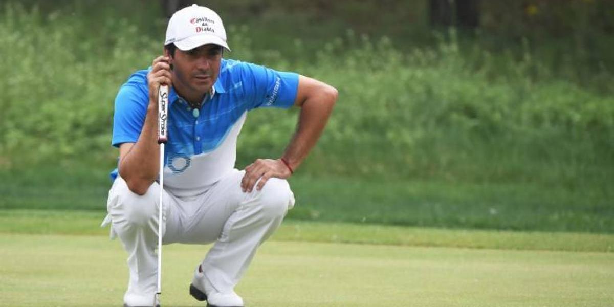 Golf: Felipe Aguilar se luce y queda líder del Abierto de Austria