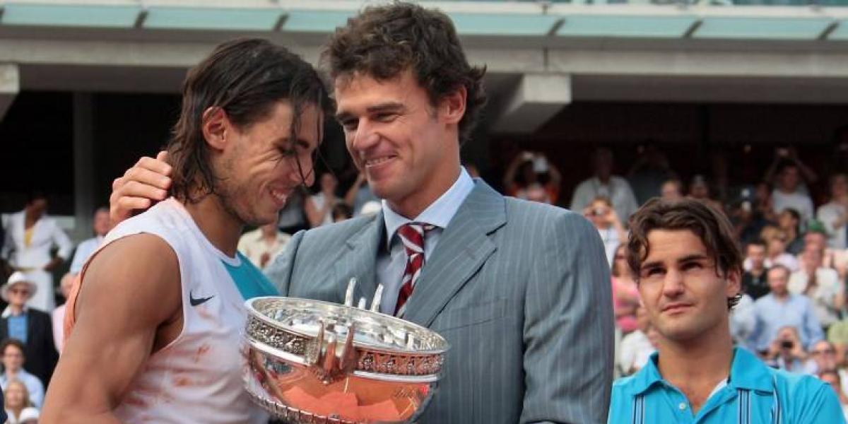 """Guga Kuerten se rinde a Nadal: """"Es un extraterrestre, podría ganar 15 títulos en Roland Garros"""""""