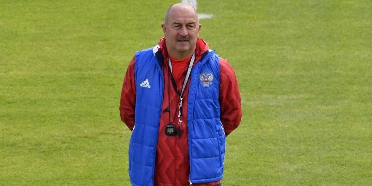 """DT de Rusia analizó amistoso con Chile: """"Es tonto hablar de un solo jugador, será divertido enfrentarlos"""""""