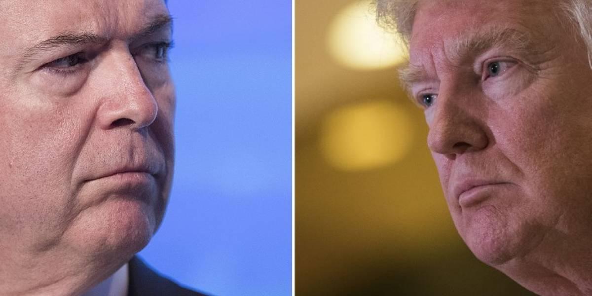 El abogado de Trump dice que Comey podría haber cometido un delito al filtrar sus conversaciones