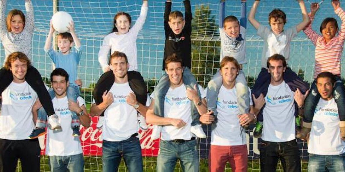 Fundación Celeste: La solidaria forma que tienen los jugadores uruguayos de ocupar sus premios