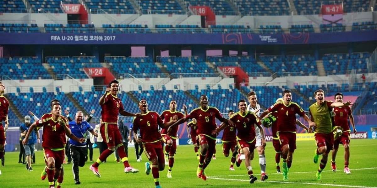 Venezuela llega a la primera final de un Mundial Sub-20 de su historia