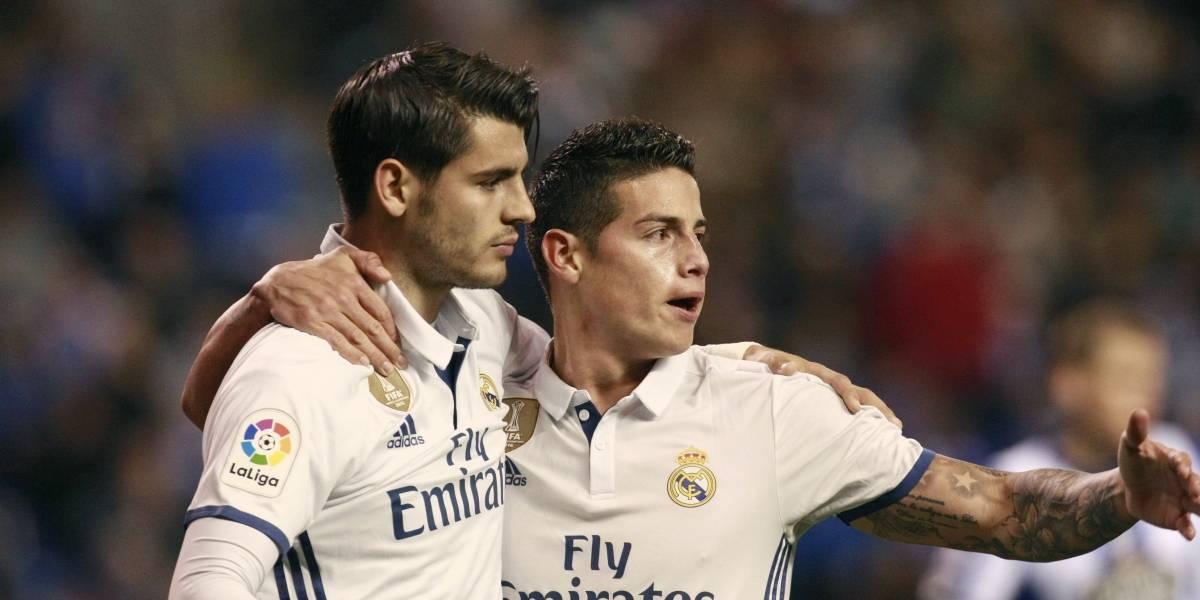 El futuro de James en el Madrid, ¿atado al de Álvaro Morata?