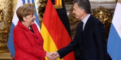 Merkel diz que apoiará