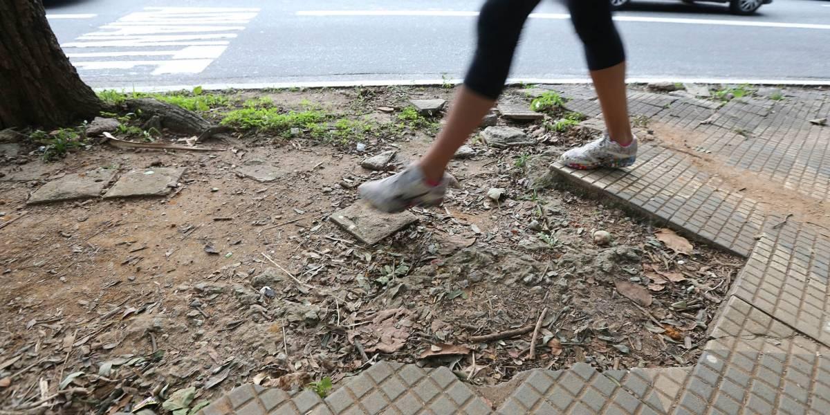 Calçadas terão novo padrão em São Paulo