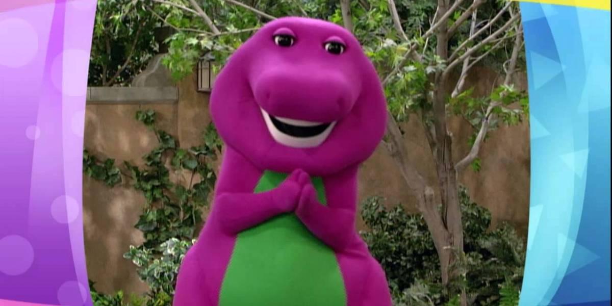 """Él es quien estuvo todo el tiempo bajo el traje de """"Barney"""""""