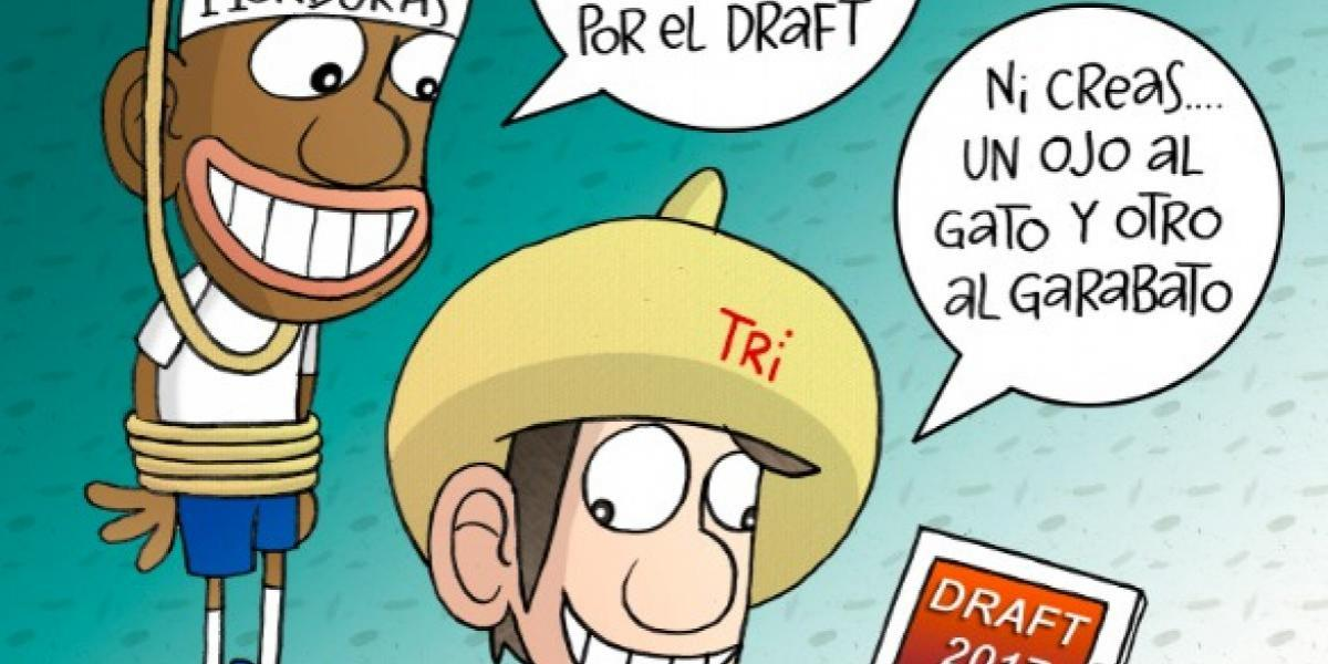 México recibe a Honduras, en el cartón del día