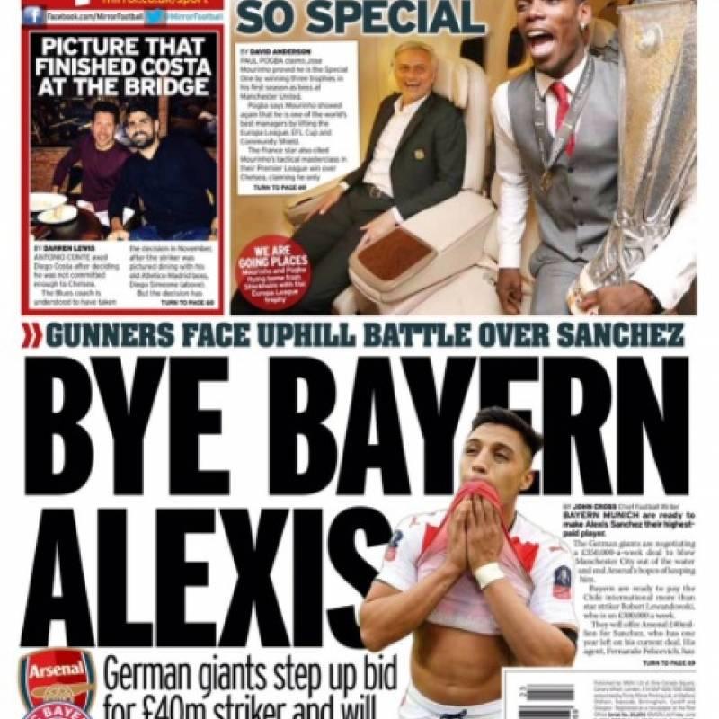 Bayern Munich y Manchester City pelearán por Alexis Sánchez