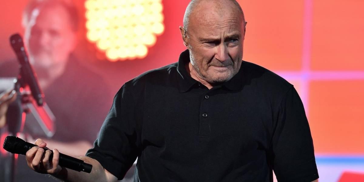 Phil Collins se encuentra hospitalizado y cancela show tras sufrir una caída en su hotel