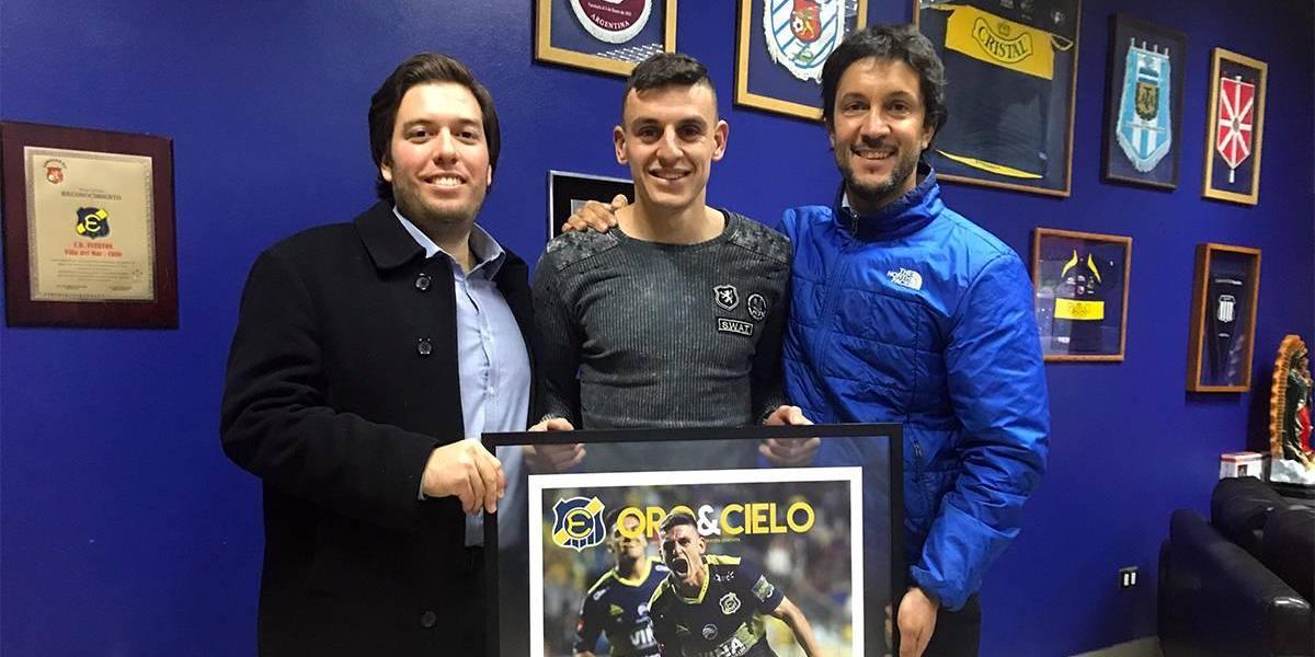 """La promesa de Maximiliano Cerato en su adiós de Everton: """"Espero volver para ganar un título"""""""