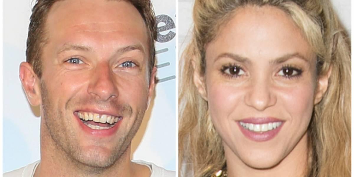 VIDEO. Shakira seduce al vocalista de Coldplay y lo pone a bailar