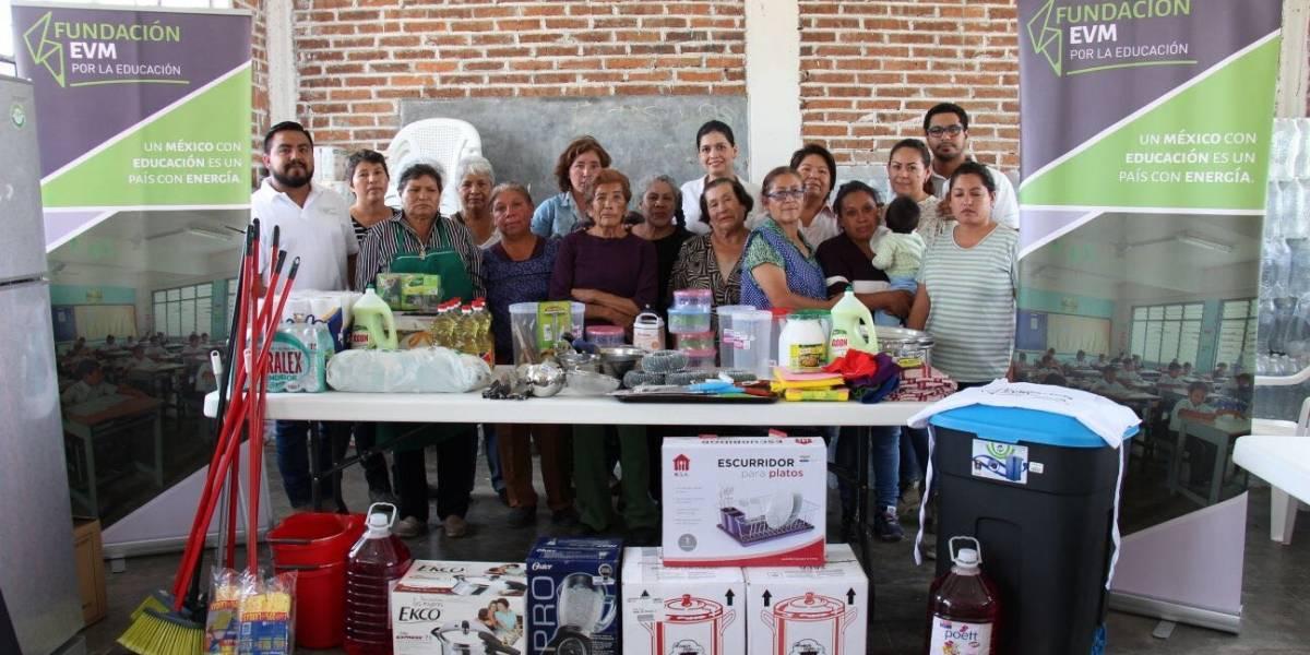 Fundación EVM Energía entrega donativos a comunidades de Edomex