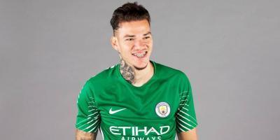 Manchester City hace oficial la contratación del portero Ederson Moraes