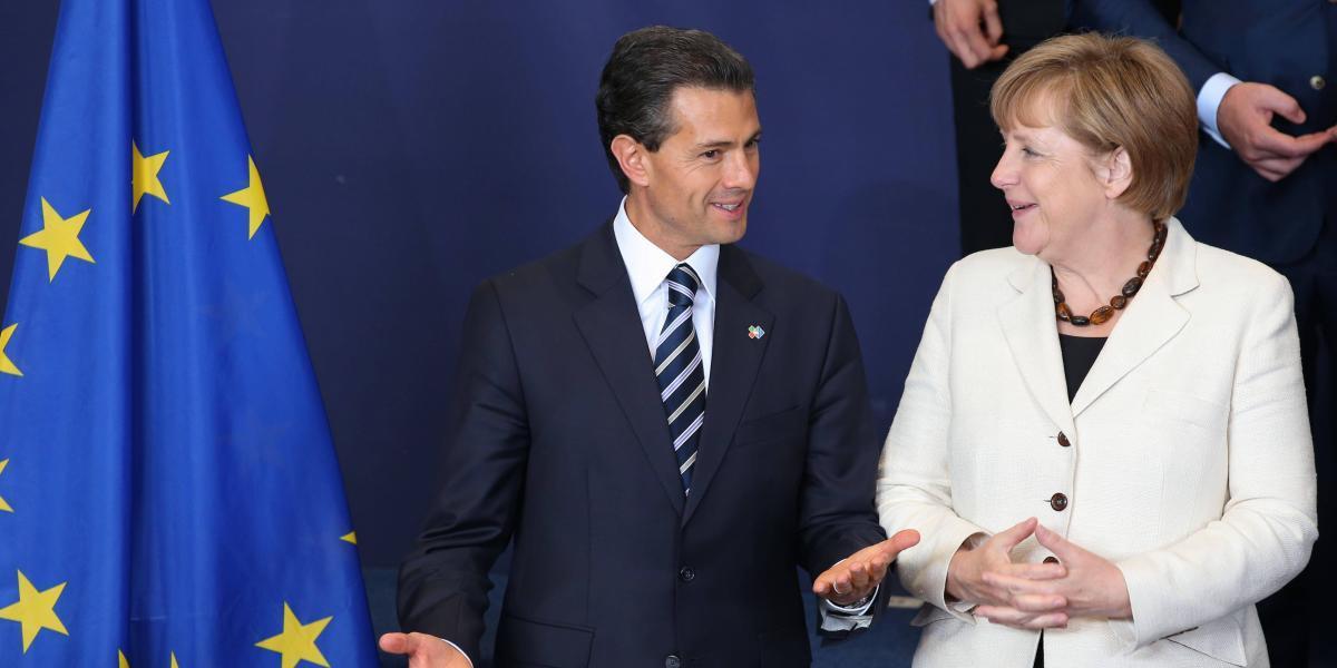 La importancia de la visita de Angela Merkel a México