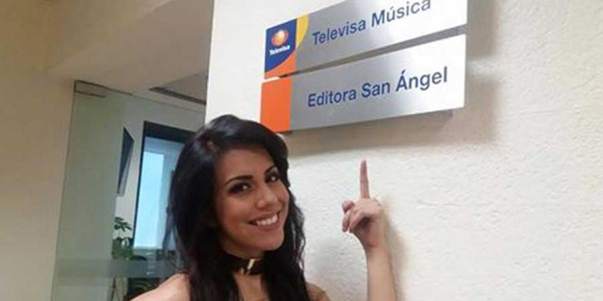 Fabiola Rhouda firma contrato con Televisa Music