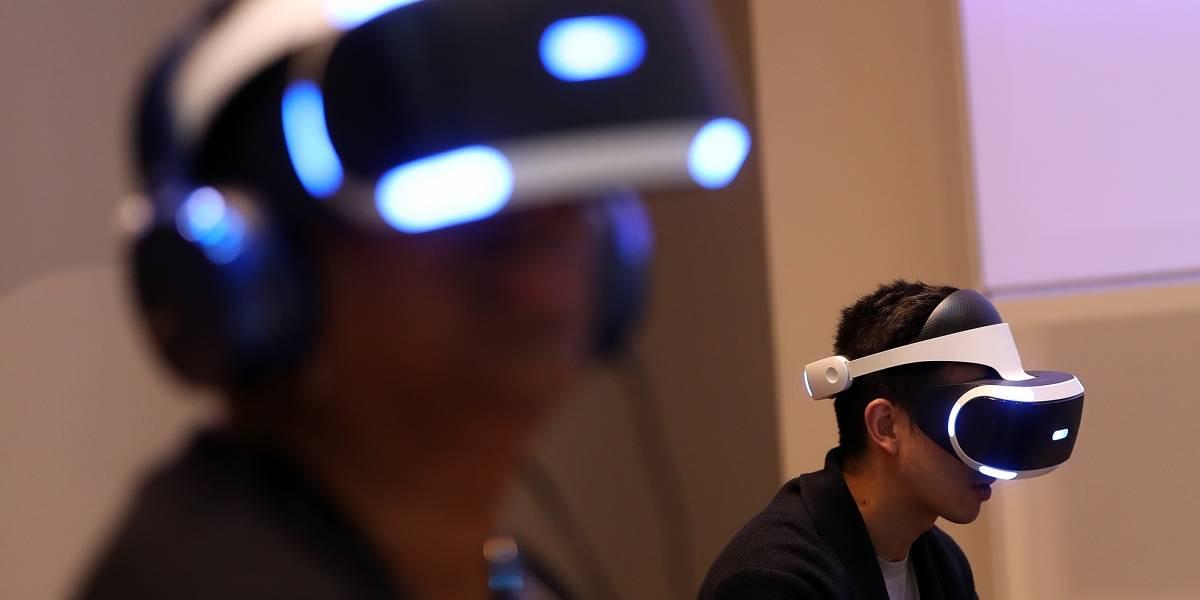 Vendas de óculos de realidade virtual da Sony ultrapassam 1 milhão de unidades