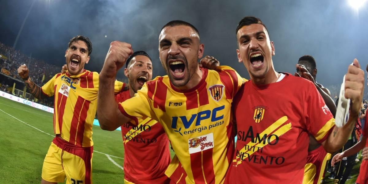 El modesto Benevento hizo historia en Italia y ascendió por primera vez a la Serie A