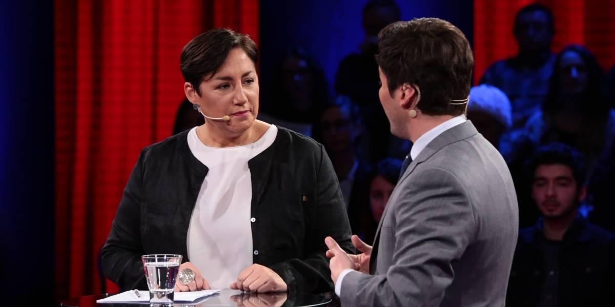 """Beatriz Sánchez: """"Condenados por DDHH deberían estar degradados y sin pensión"""""""