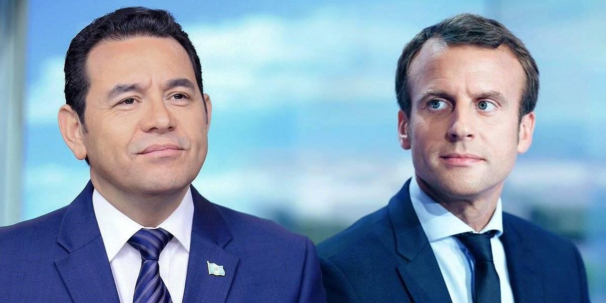 Jimmy Morales reitera en Francia el compromiso de Guatemala en materia de transparencia