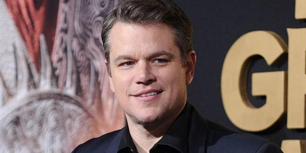 El aspecto desmejorado de Matt Damon con 60 libras menos