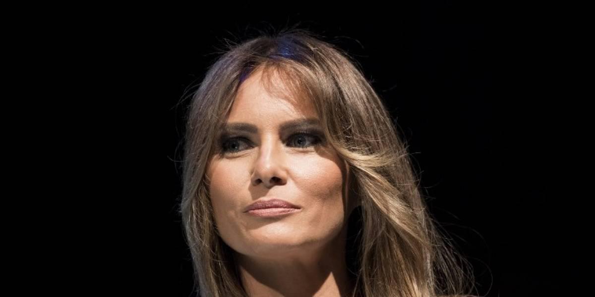"""Melania Trump prepara una carta de cumpleaños """"inolvidable"""" para su marido"""