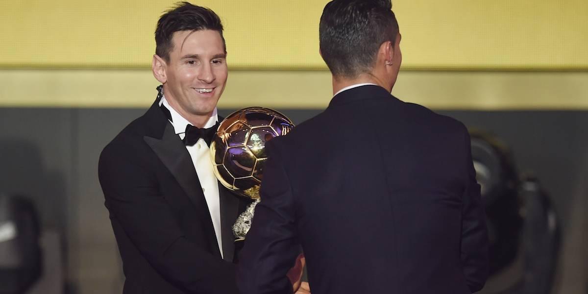 """""""Cristiano se supera año tras año, es un grandísimo jugador"""": Messi"""