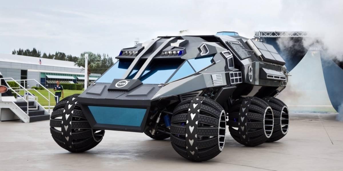 Con este vehículo, la Nasa quiere conquistar Marte
