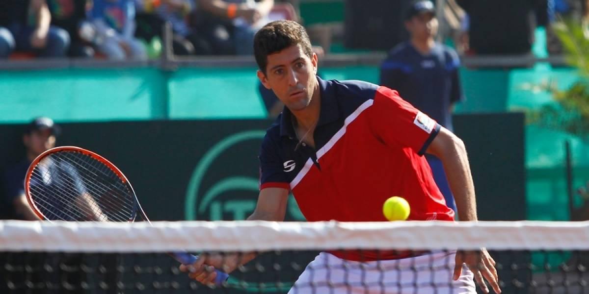 Hans Podlipnik accedió a la final de dobles del Challenger de Prostejov