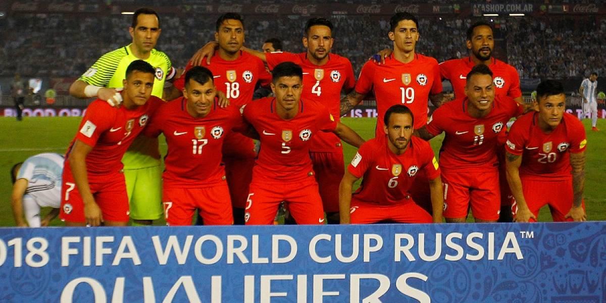 Los dorsales confirmados de la Roja para la Copa Confederaciones