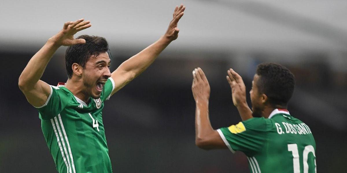 México pone un pie en el Mundial de Rusia tras vencer a Honduras