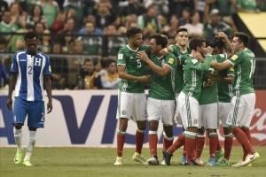 México vence a Honduras por el Hexagonal Final de Concacaf.
