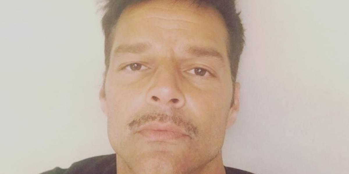 Cibernautas le caen encima a Ricky Martin