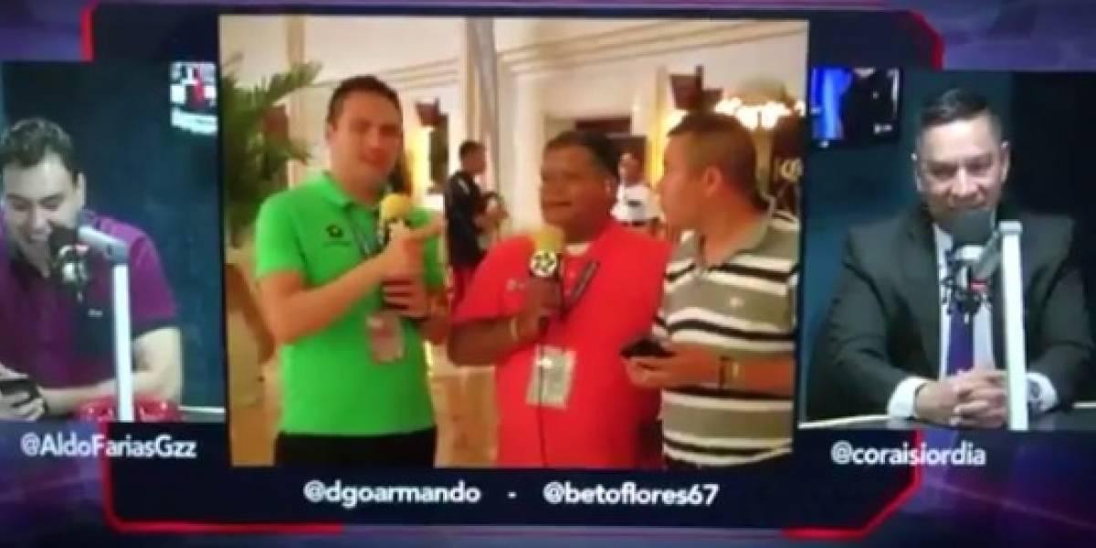 VIDEO: Reporteros caen en la trampa y anuncian fichaje de Giovinco a Rayados