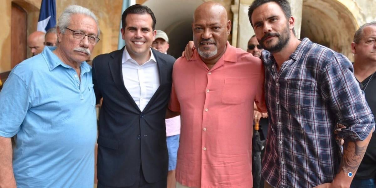 "Gobernador da bienvenida a actores de película ""Imprisoned"""