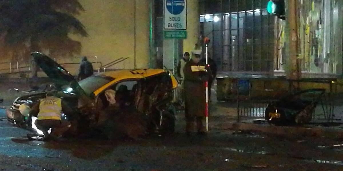 San Miguel: taxista falleció tras violenta colisión