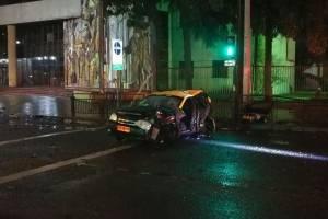 Taxista colisión
