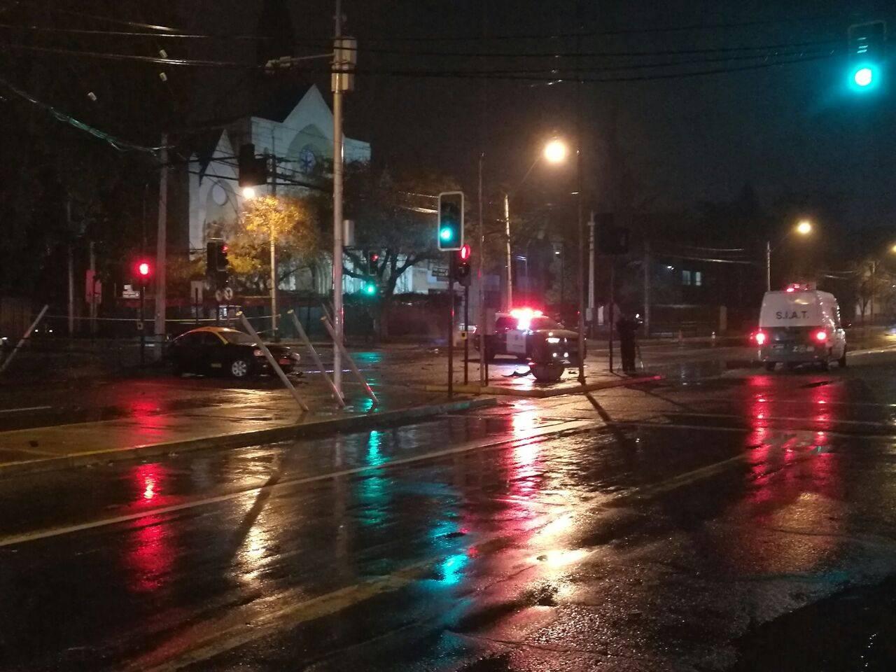 Taxista falleció tras violenta colisión — San Miguel