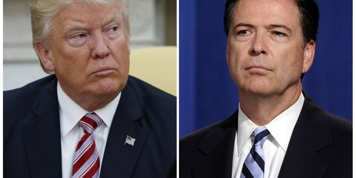 Las contradicciones entre Trump y Comey: uno de los dos miente