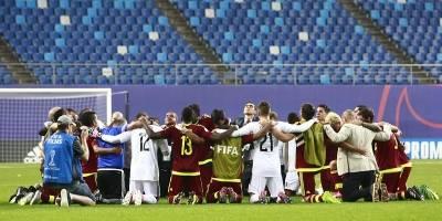 Insultos y piñas entre jugadores en el Mundial Sub 20