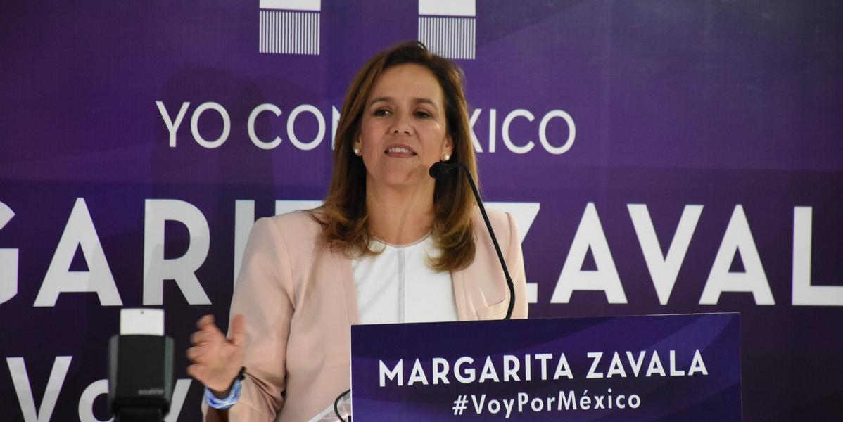 Margarita Zavala inicia gira y dice que no se va del PAN