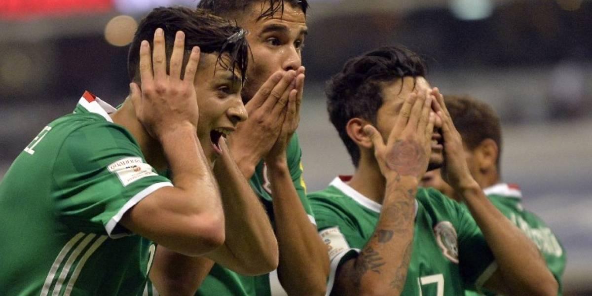 México goleó a Honduras y quedó a un paso del Mundial de Rusia 2018