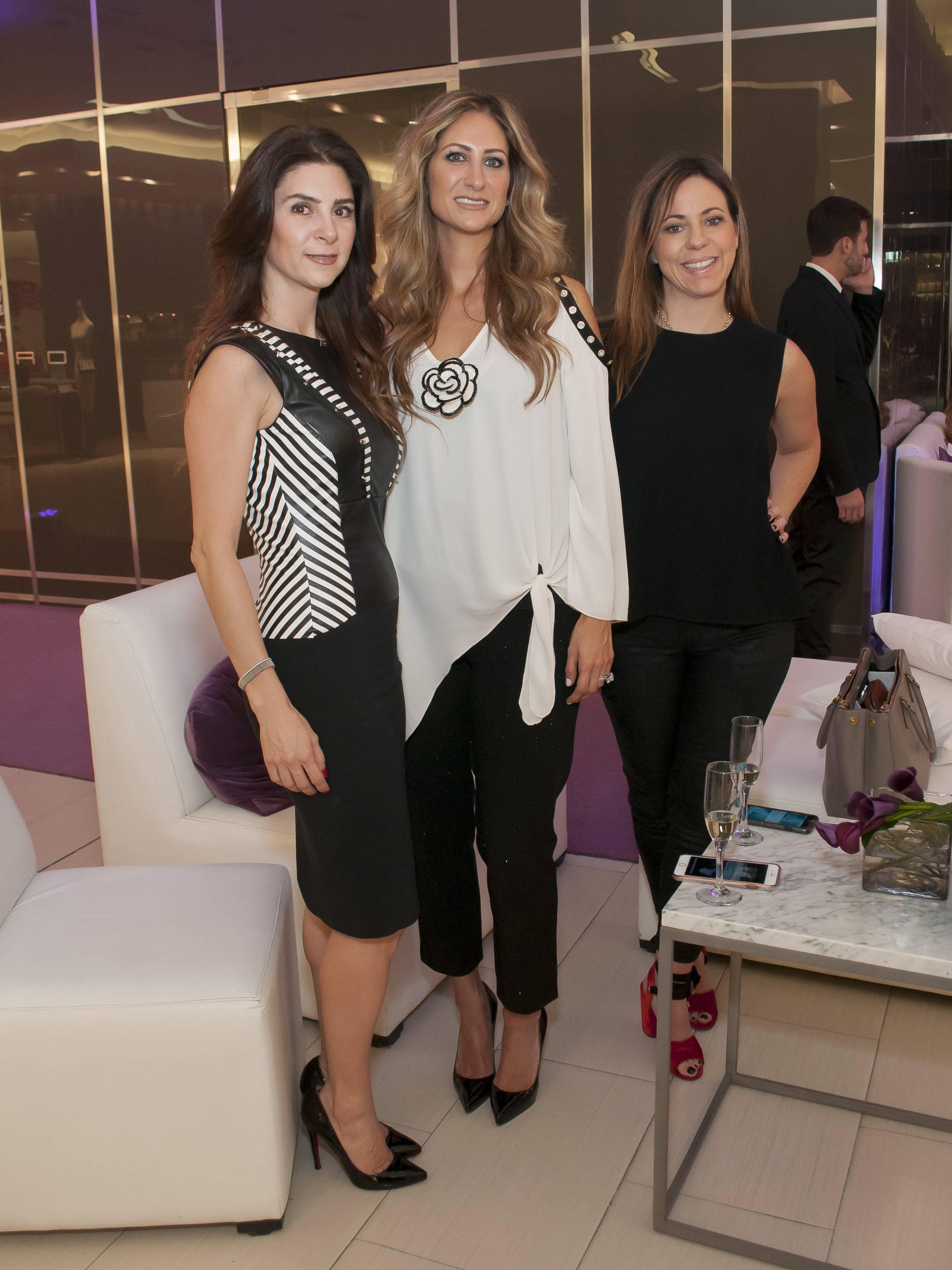 Jessica Pliego, Pixie Devlyn y Katherine de Pavia JDS
